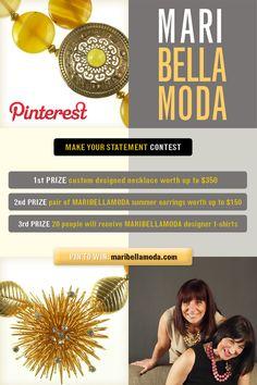 a fun Pinterest contest by www.maribellamoda.com ... details at: http://www.wishpond.com/pic/56686?scid=15780=Merchant