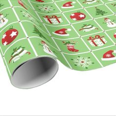 New Year pattern. Color Pictures. 2018. Wrapping Paper - Xmas ChristmasEve Christmas Eve Christmas merry xmas family kids gifts holidays Santa