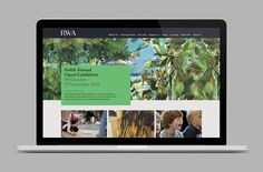 Brand identity and website for Royal West of England Academy by Spy, United Kingdom