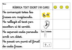 text escrit per Texts, Language, Writing, School, Valencia, Frases, Phonological Awareness, Speed Reading, Speech Language Therapy