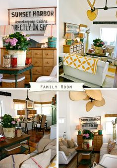 California Country Style | The Lettered Cottage - i love this!