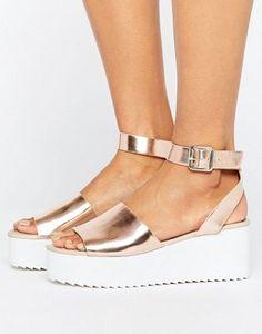ASOS TAKE OFF Wedge Sandals