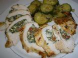 Herbed Spinach, Feta, Ricotta stuffed Chicken via @SparkPeople