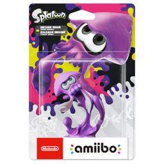 Inkling Squid (Neon Purple) amiibo (Splatoon Collection): Image 1