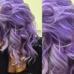We LOVE @gelsenkirchen84's hair. #ElectricAmethyst is the go-to color for the perfect #lavender locks. Silver Purple Hair, Lilac Hair, Lavender Hair, Yellow Hair, Green Hair, Blue Hair, Manic Panic Electric Amethyst, Manic Panic Purple, Bright Hair