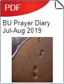 Baptists Together Prayer Diary for July and August 2019 Worship, Prayers, Beans