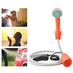Car Washer 12v Portable Camping Shower Set Usb Car Shower Dc 12v Pump Pressure Shower Outdoor Travel Caravan Water Tank Suitable For Men And Children Women