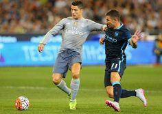 Ronalndo vs Kolarov Champions League 2015-16