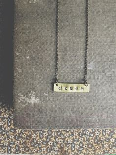 dream necklace. this would be cute for the ouad dancers.