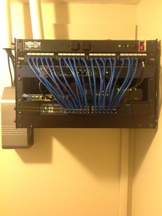 Home Network Backbone with upgrade Power Over Ethernet, Netgear router switch and Poe switch