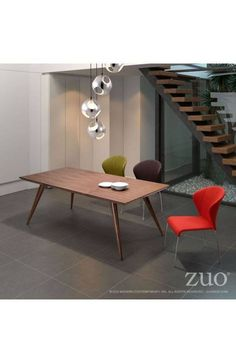 Zuo Modern Stockholm Dining Table | Domino