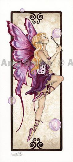 Amy Brown: Fairy Art - The Official Gallery  Bubble Blower
