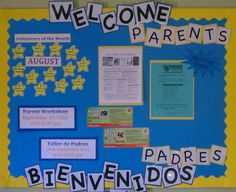 This section includes funny Back to school bulletin board ideas, color posters. This section has a lot of bulletin board ideas for preschool teachers. Parent Bulletin Boards, Preschool Parent Board, Office Bulletin Boards, Science Bulletin Boards, Preschool Classroom, Preschool Projects, Classroom Rules, Classroom Organization, Preschool Activities