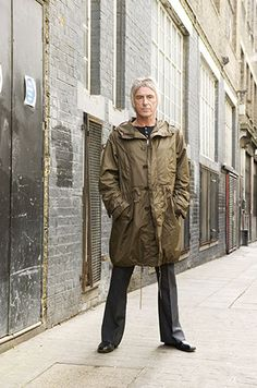 See Paul Weller pictures, photo shoots, and listen online to the latest music. The Style Council, Paul Weller, Mod Fashion, Sporty Fashion, Fashion Menswear, 1960s Fashion, Fashion Women, Britpop, My Idol
