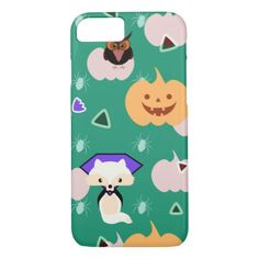 My cute Halloween iPhone 7 Case - diy cyo customize create your own personalize