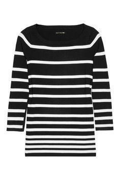 Rag & bone|Sara striped fine-knit top|NET-A-PORTER.COM