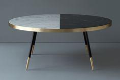 Band Two-Tone Coffee Table via Goodmoods