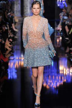 Elie Saab Fall 2014 Couture Fashion Show - Caroline Brasch Nielsen (Elite)