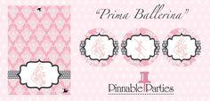 """Prima Ballerina"" printables"