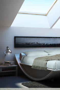 """classy-captain: """"Bedroom area by Mazzali """""""