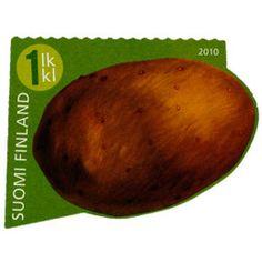 Finland, Stamps, Potatoes, Vegetables, Food, Seals, Potato, Essen, Vegetable Recipes