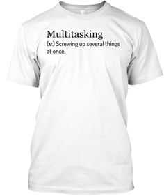 Multitasking definition.