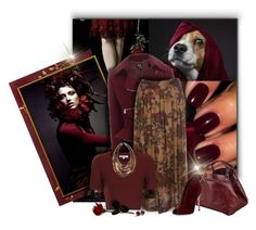 """""""Ravishing Reds"""" by signaturenails-dstanley ❤ liked on Polyvore featuring McQ by Alexander McQueen, Glamorous, Caroline De Marchi and Gianvito Rossi"""