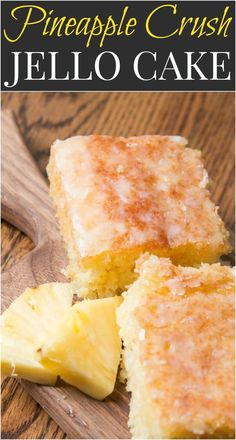 Pineapple crush jello cake is seriously one of the most moist cakes out there. The pineapple niblets are barely noticeable but give such flavor! Cake Pineapple, Pineapple Recipes, Crushed Pineapple, Pineapple Juice, Pineapple Crush Recipe, Food Cakes, Cupcake Cakes, Cupcakes, Jello Cake Recipes