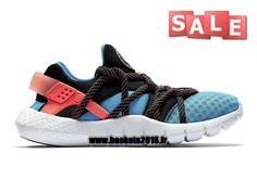 Nike Air Huarache NM Chaussures Pas Cher Pour Femme Nike Officiel Bleu - Noir - Rouge - Blanc 0307