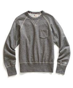 //\\ Salt & Pepper Pocket Sweatshirt