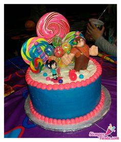 Divertidas ideas para tu próxima fiesta de Ralph el Demoledor. Consigue todo para tu fiesta en nuestra tienda en línea entrando aquí: http://www.siemprefiesta.com/fiestas-infantiles/ninos/articulos-ralph-el-demoledor.html?limit=all&utm_source=Pinterest&utm_medium=Pin&utm_campaign=Ralph