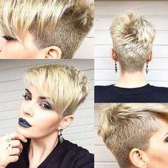 13.Pixie Haarschnitt