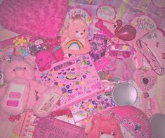 Image about pink in おもちゃ✨ by ♡花ちゃん♡ on We Heart It Bedroom Wall Collage, Photo Wall Collage, Murs Roses, Tout Rose, Aesthetic Indie, Everything Pink, Pink Walls, Indie Kids, Soft Grunge