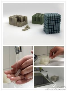 sectional soap