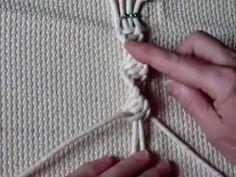 Узлы макраме Плоские узлы -часть2.mp4 - YouTube