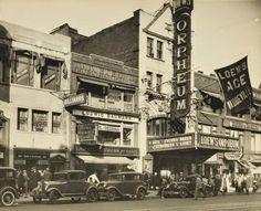 """Kleindeutschland or """"Little Germany,"""" 1880s NYC East Village"""