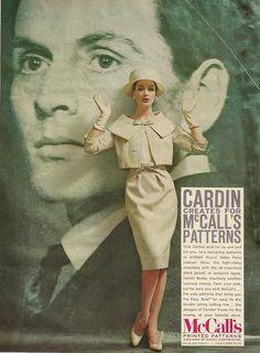 Pierre Cardin for McCalls 1959