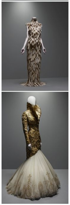 Alexander McQueen - Savage Beauty Collection-I was lucky enough to see this in person-such a talented artist