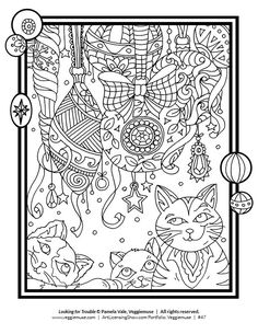 Free 92 Page Holiday Coloring Book | Coloring pages | Pinterest ...
