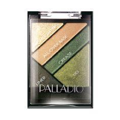 Palladio Palladio Sombras Silk Fx Haute Couture Espectacular sombra que brinda a tu mirada un brillo unico y explosivo, en combinacion de  4 hermosos tonos y un delineador de ojos que profundiza tu mirada. Makeup Cosmetics, Blush, Eyeshadow, Hair Beauty, Silk, Couture, Debutante, Eye Liner, Shape