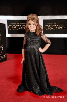 Mini Adele | Hilariously Strange Kid Versions Of Celebrities At The Academy Awards