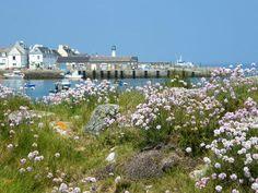 Paysage de Bretagne île de Sein