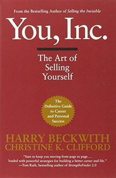 You, Inc.: The Art of Selling Yourself (Warner Business) by Harry Beckwith http://www.amazon.com/dp/0446695815/ref=cm_sw_r_pi_dp_YuyPvb15SGW39