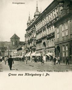 Königsberg Pr.   Königstraße
