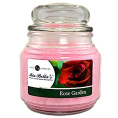 Rose Garden 16oz Jar - Intoxicating! - like walking through an English Rose garden.  Order yours at: https://scent-team.com/marieclairegifts/productDetails/JR24Y00