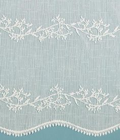 Divine Sheer Lace Rod Pocket Panel