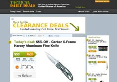 3 Daily Deal Sites for Tactical Gear california daily deals