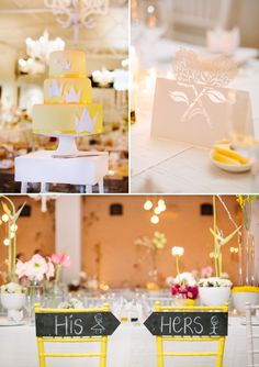Joli mariage moderne jaune – Partie 2