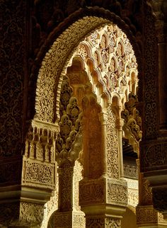 Another magical corner of the Alhambra. Spain.