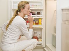 Snacking late at night can cause weight gain, insomnia and depression. Break the habit of nighttime binging with these expert tips